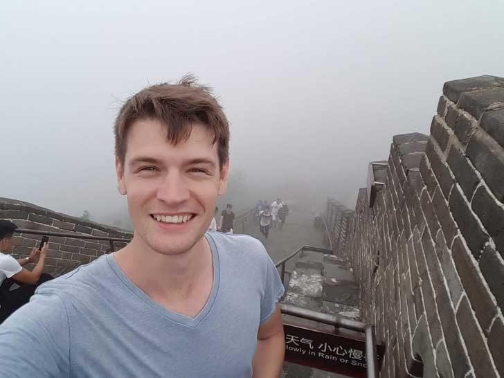 """""""Денят, когато посетих Великата китайска стена"""""""