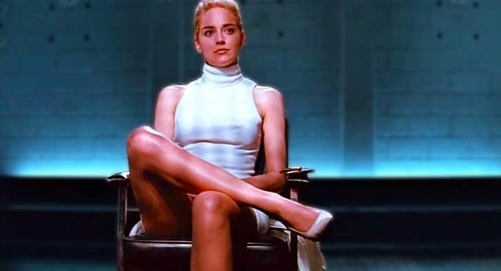 """Шарън Стоун - """"Първичен инстинкт"""" (1992 г.)"""