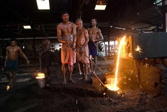 Производство на капаци за шахти, Индия