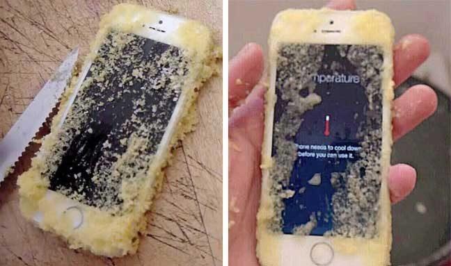"""""""Изпекох си кекс, без да осъзная, че преди това телефонът ми е паднал в сместта"""""""