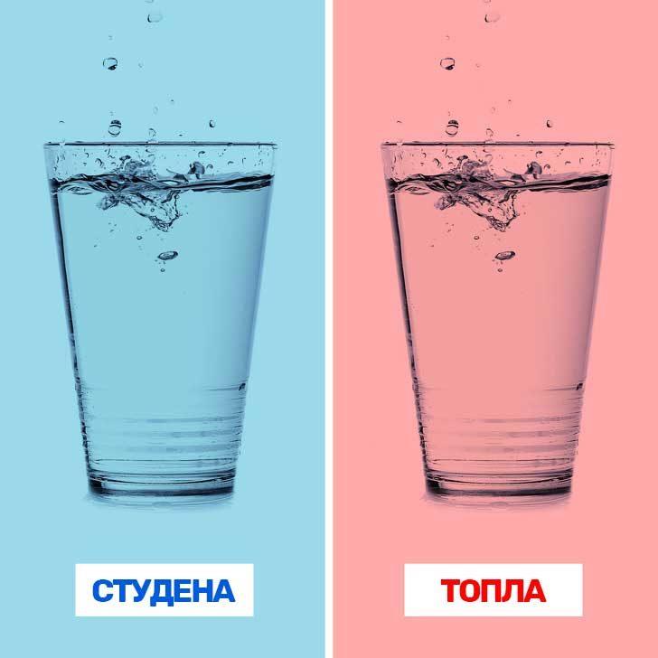 Можеш да познаеш, дали водата е топла или студена, слушайки звука, който издава