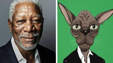 Как щяха да изглеждат някои известни личности като животни