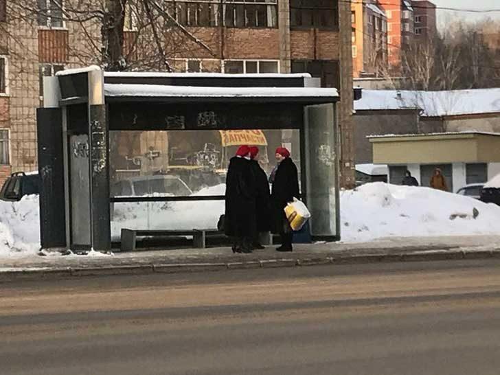 """""""Реших, че имам нужда хубаво да се наспя, когато ги видях на автобусната спирка"""""""