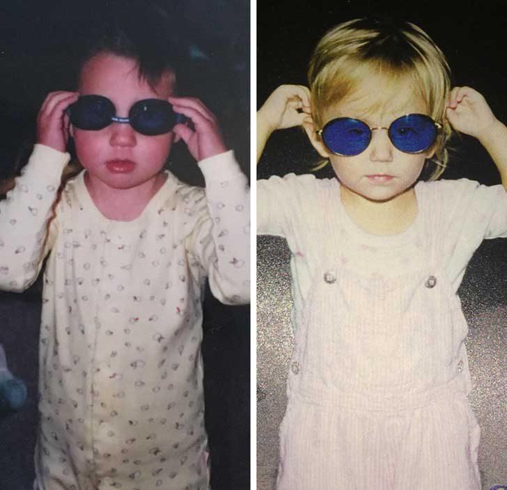 """""""Моята и снимката на приятелката ми от детските години изглеждат почти еднакво"""""""