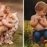 15 сладки снимки на деца и животни, които ще усмихнат деня ти