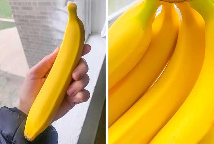 """""""Купих някои съмнително перфектни банани"""""""