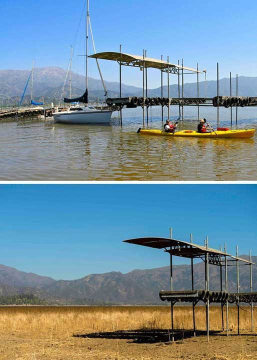 Само за 6 години езерото Акулео в Чили изчезва, сякаш никога не е съществувало