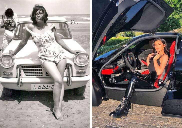 Жените и колите
