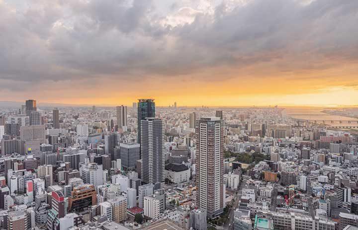 Осака-Кобе-Киото, Япония