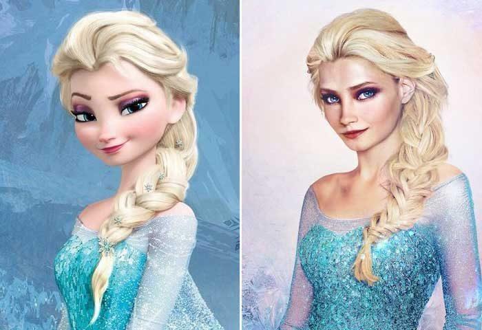 """Елза, """"Замръзналото кралство"""""""