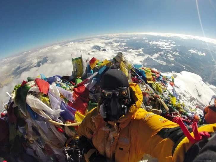 До обществото на плоскоземците - шах и мат! Тази снимка, направена от връх Еверест, според нейния автор трябва да сложи край на безумните твърдения, че Земята е плоска