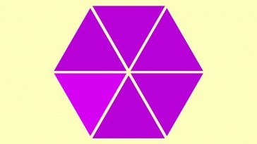 Тест за остро зрение - открий кой триъгълник е в различен цвят