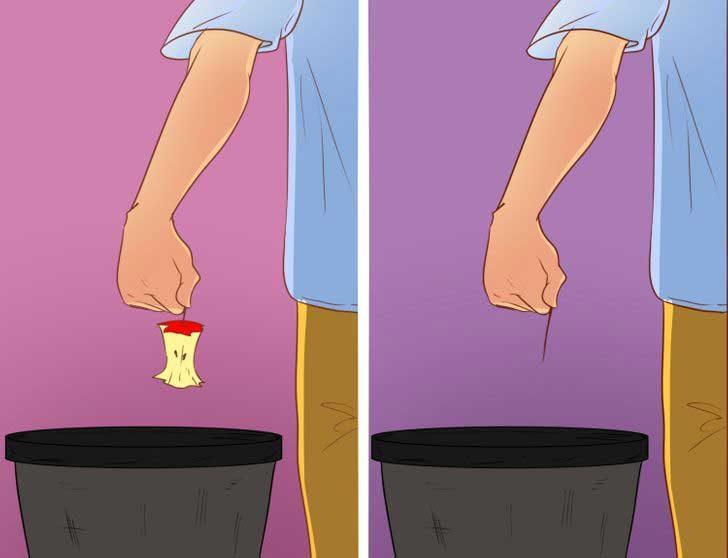 Хора, които оставят половината ябълка и други, които я изяждат дори остатъците