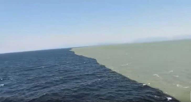 Тук се срещат Тихият и Атлантическият океан