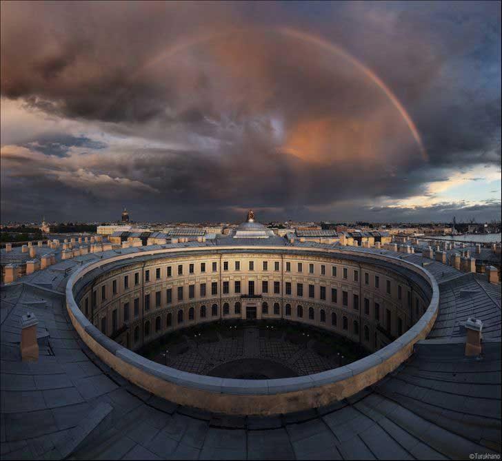 Руската академия на изкуствата в Санкт Петербург