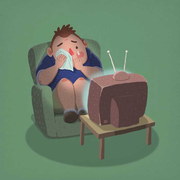 Гледат женски предавания по телевизията