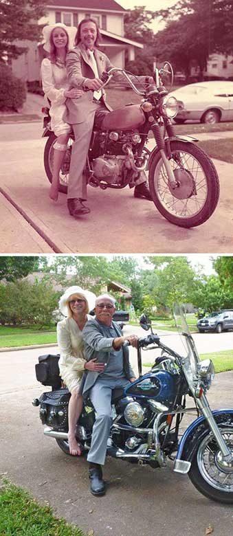 Родителите ми отпразнуваха днес своята 40-годишнина от сватбата. Някои неща никога не се променят