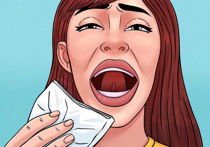 Притисни езика си към зъбите, за да предотвратиш нежелано кихане