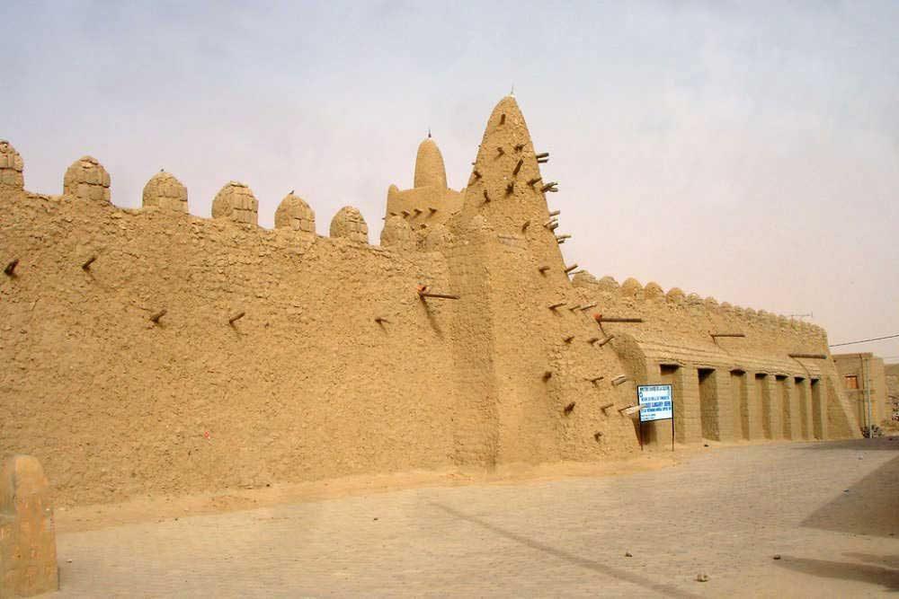 Големия дворец на Муса I в Тимбукту