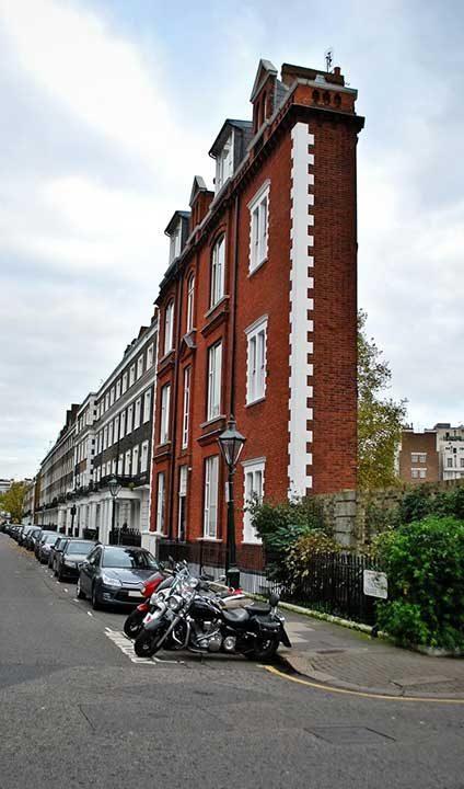 Изключително тънки жилищни сгради в Лондон