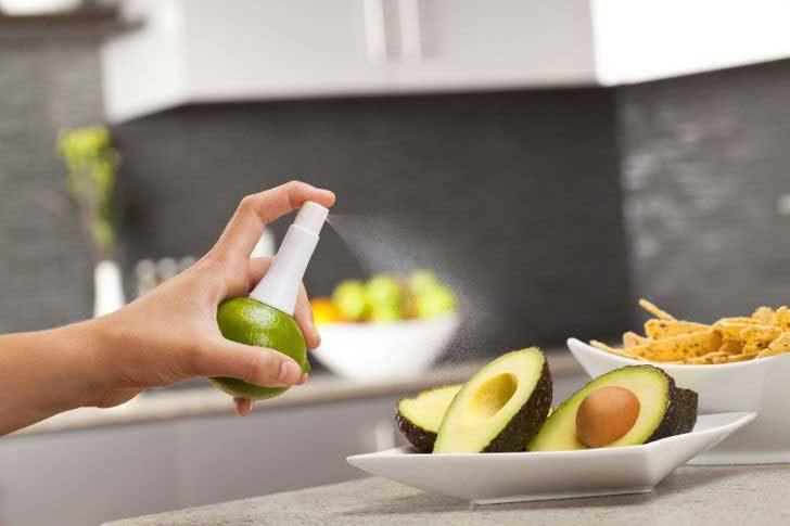 Спрей за почистване на плодове и зеленчуци