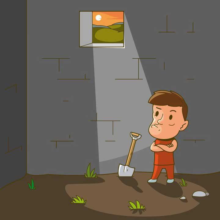 Загадка №1: Бягство от затвора