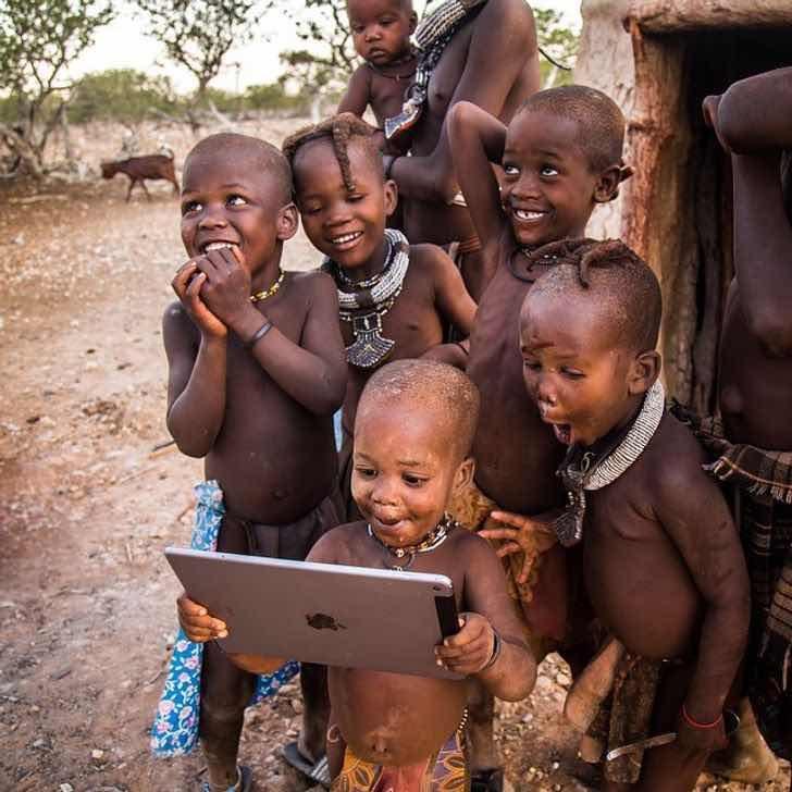 Когато технологията достигне и най-отдалечените краища на света