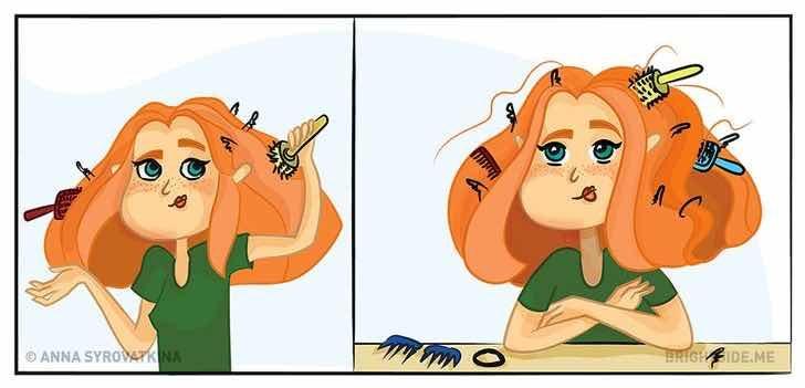 Какво се случва, когато имаш гъста коса