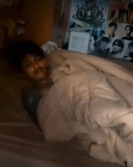 Взломаджия заспива на местопрестъплението и полицията го събужда