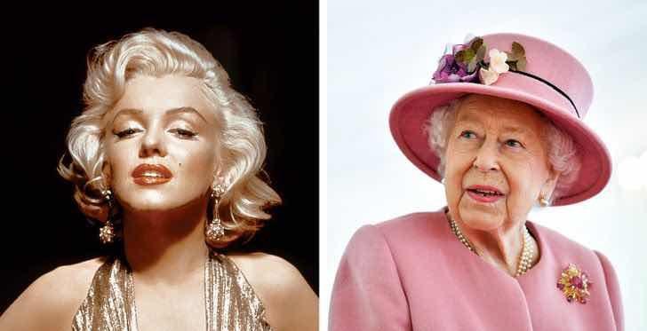 Кралица Елизабет II и Мерилин Монро днес биха били на една и съща възраст