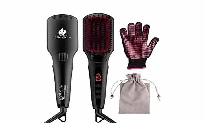 Йонна четка за коса: подобрена четка за изправяне на коса от MiroPure