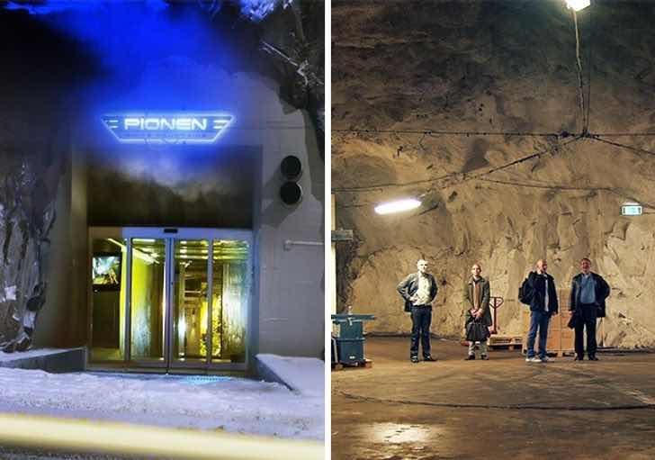"""Бункерът """"Пионен"""", Стокхолм, Швеция"""