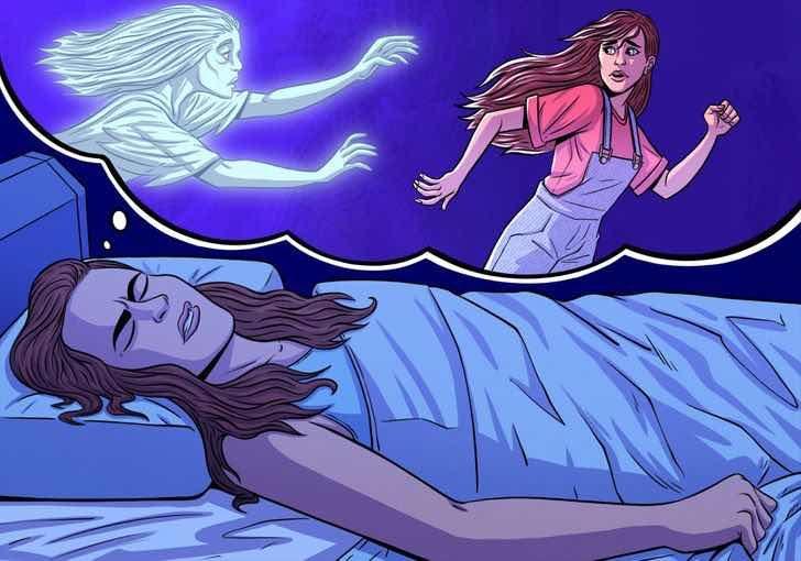 Повечето ти мускули се парализират по време на REM фазата на сън