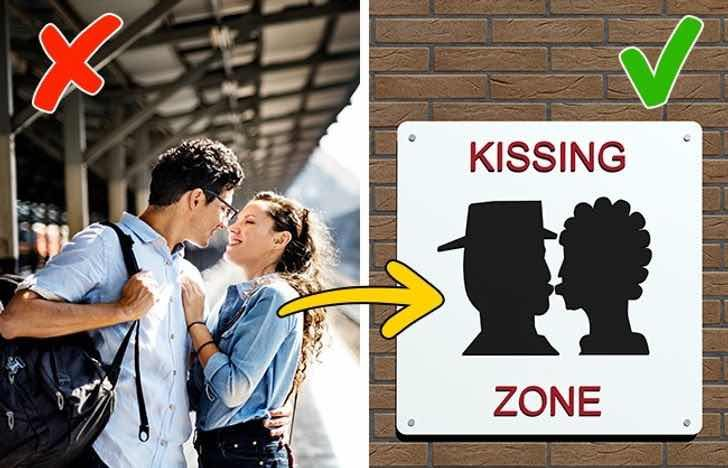 Във Франция е забранено да се целуваш на железопътните гари